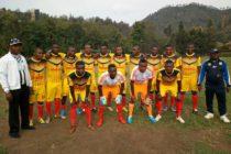 Les anciens et actuels joueurs du fc nyiragongo étaient en amical ce dimanche à Gisenyi