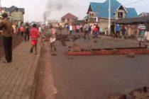 Goma:Paralysie des activités dans quelques quartiers