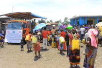 Goma: Célébration de la journée mondiale de lavage des mains ce 15 octobre 2017 sur fond de manque d'eau et flambée de choléra