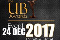 Ub Award: Une reconnaissance des talents de Goma.