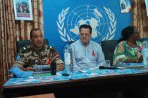 """RDC : David Gressley,"""" la Monusco contribue à l'objectif de zéro nouvelle infection au VIH """""""