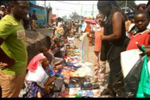 Goma: Birere, les marchands envahissent les chaussées à la veille des fêtes