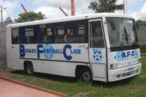 Urgent:Le bus promis à l'AS Nyuki est un ancien immobilisé dans le charoi automobile de l'école du cinquantenaire.