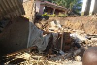 Ituri:Une forte pluie fait 4 morts et plusieurs blessés à Bunia.