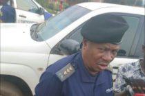 Butembo : Après un vendredi agité, la police livre son bilan à la presse.