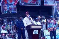 Goma : Shadary promet la sécurité à l'est et la gratuité de l'enseignement primaire une fois élu président
