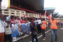 Goma : La population brave la pluie pour la réception du ticket gagnant FASTHIVIT situation à (11h30)
