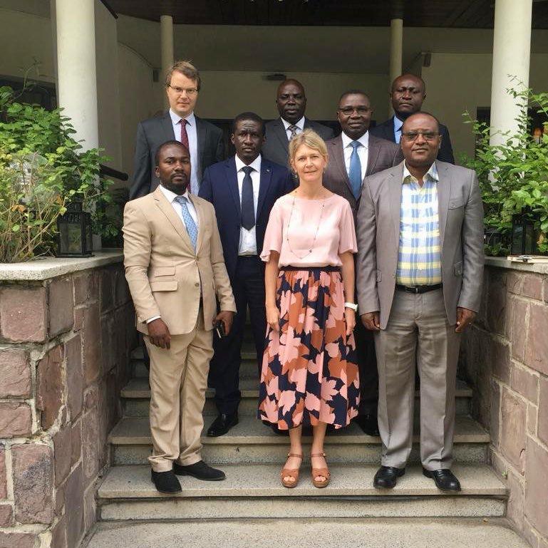 RDC: Une délégation des députés nationaux du Nord-Kivu reçue par l'ambassadrice de la Suède en RDC